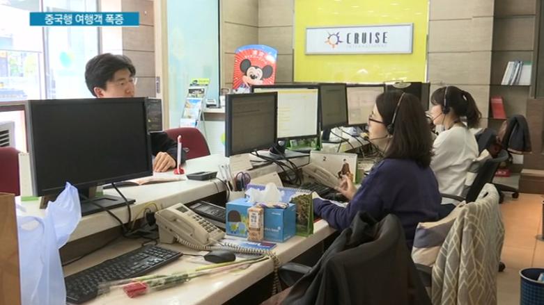 韩国人开启疯狂赴华游模式:预订量暴增200%!