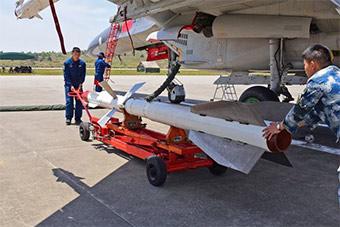 远海实战化训练前重型战机挂什么武器