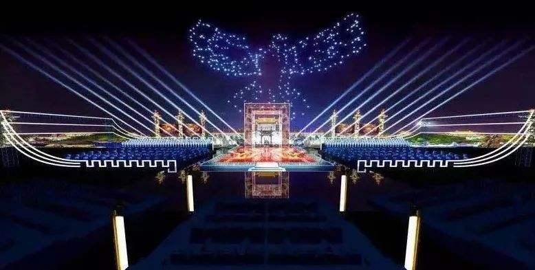 中国200架无人机编队再创纪录 跟灯光表演完全不一样