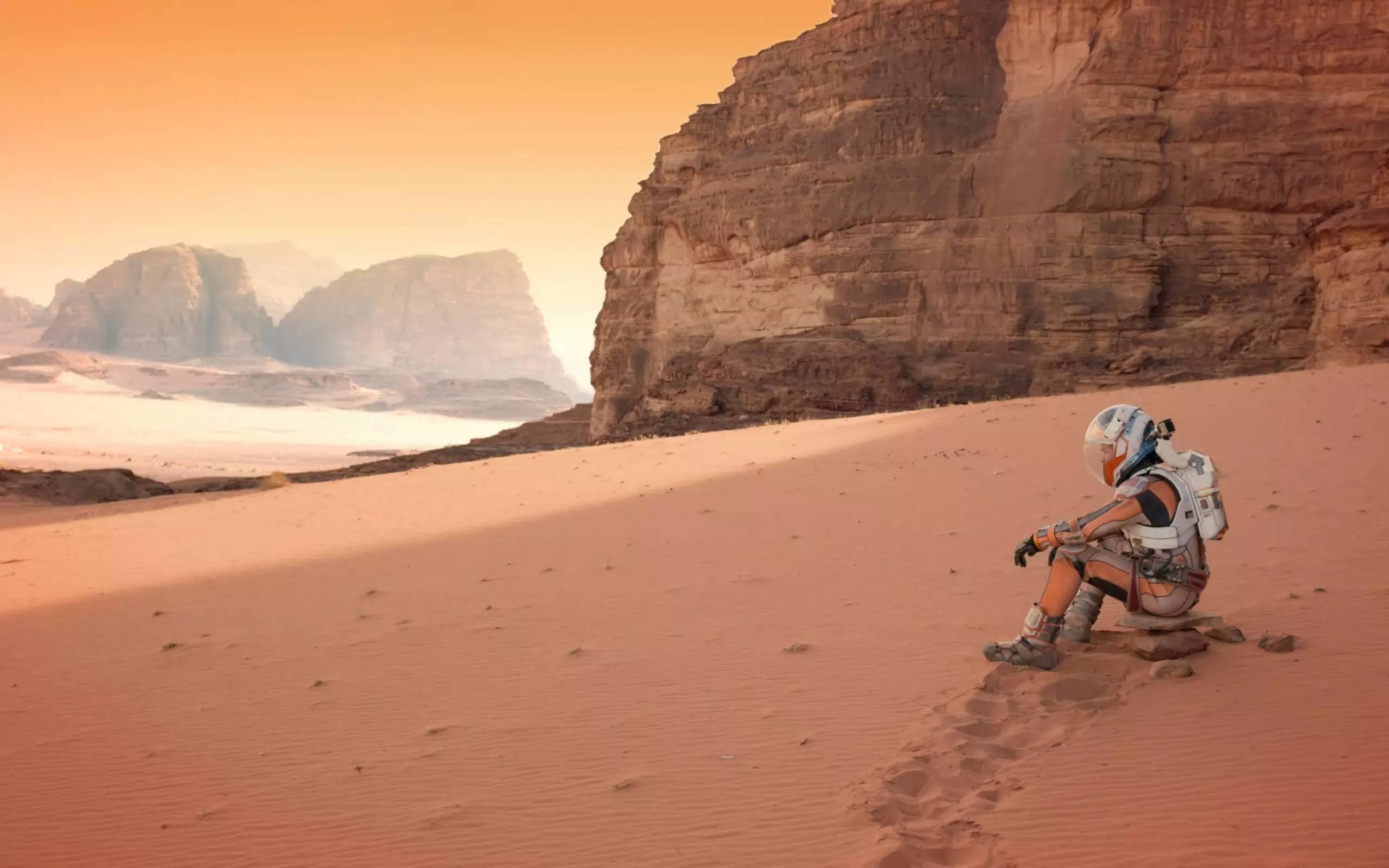 火星将迎来第一架无人机 震撼的上帝视角要来了