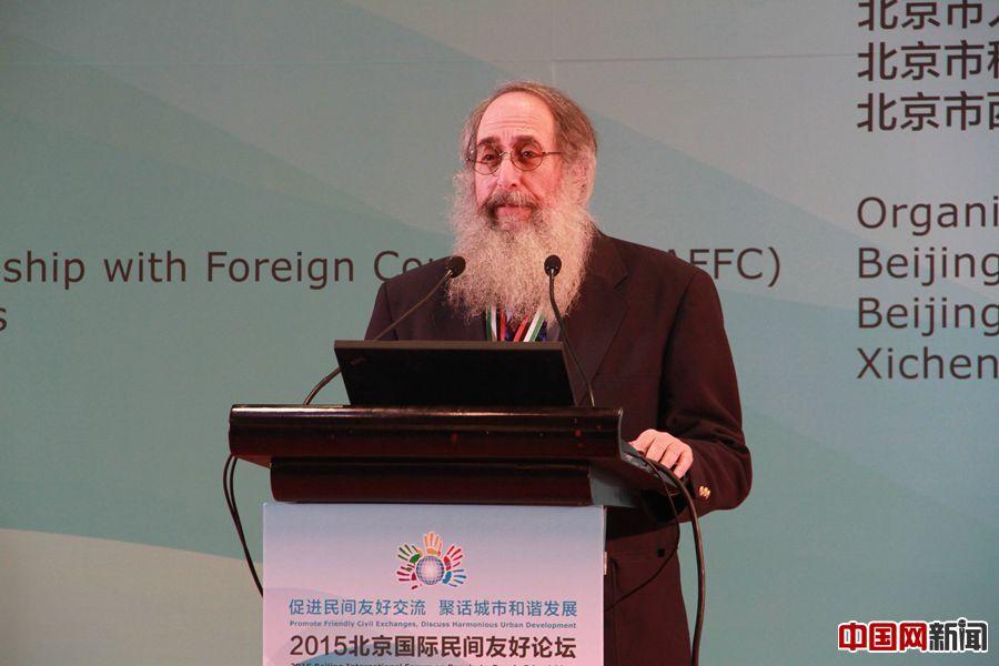 马克·力文:国际民间交流就是人与人之间乐于分享