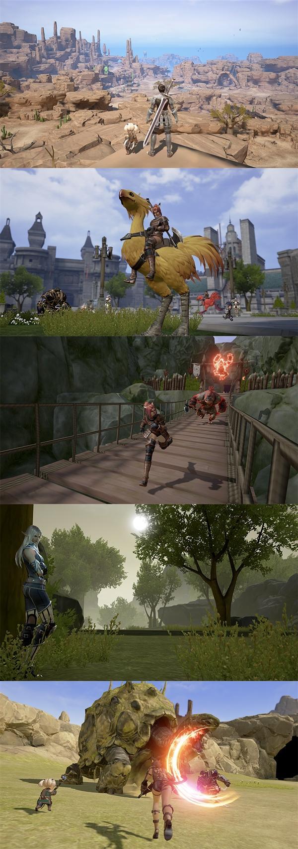 《最终幻想XI》移动版实机画面曝光