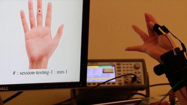可穿戴技术可以让你的手指识别手势