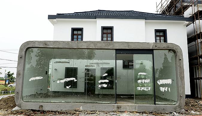 上海郊区乡村将现多栋3D打印建筑