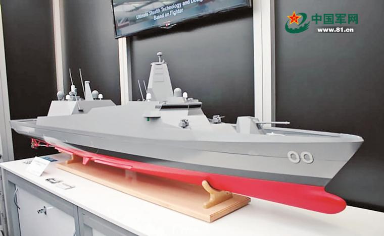 日本下一代护卫舰模型亮相 3900吨武装到牙齿