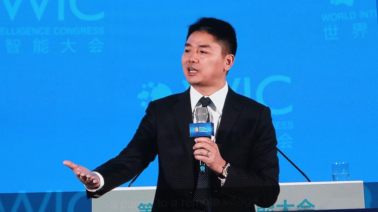 刘强东:我有一个梦想 让机器替代人类繁重劳动