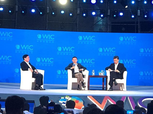 马云:不要去弥补美国中国空白 要去弥补未来空白