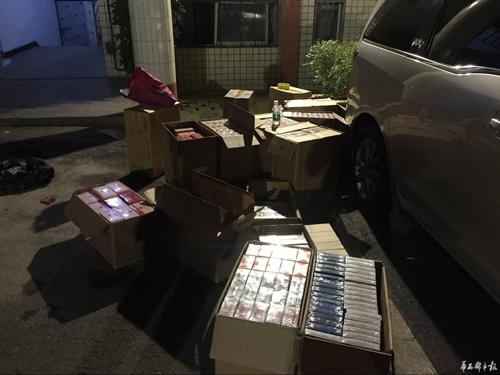 四川达州大竹查获案值近40万元假冒走私卷烟 4名涉案人员被刑拘