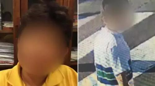 被绑架的华裔男童(澳洲九号台新闻图片)