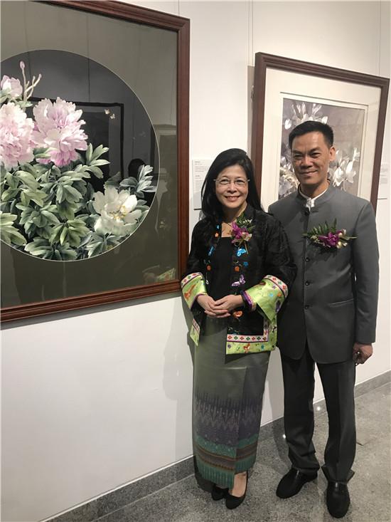 蔡民强与他的潮绣巨著《阿房宫》
