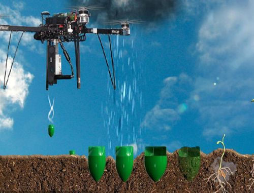 湖南省难造林地无人机精准飞播造林试点正式启动