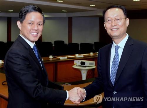 韩国和新加坡共商新能源和自动驾驶汽车合作