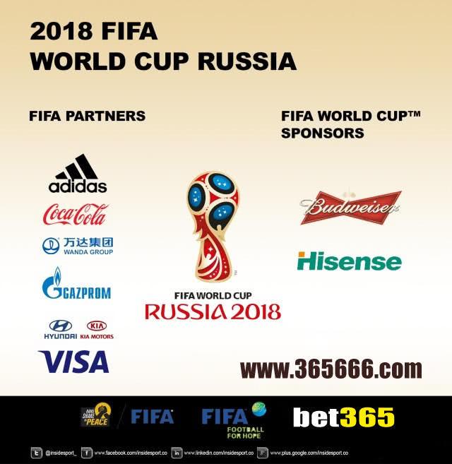 2018世界杯bet365成为俄罗斯体育赛事内容合作伙伴