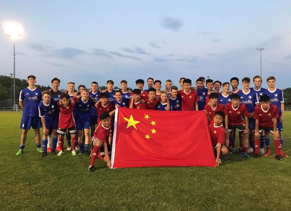 拜仁慕尼黑青年杯 中国少年的十天圆梦之旅
