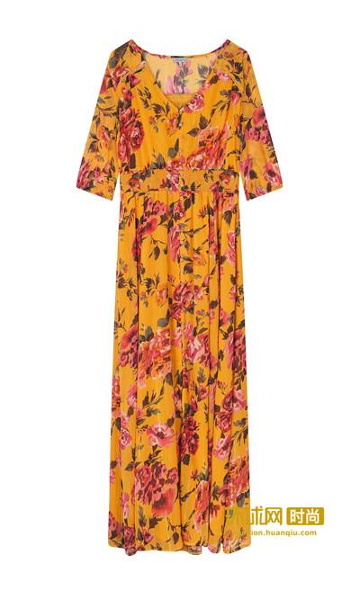 长裙妩媚飘逸惹人醉,穿出盛夏最美女神范
