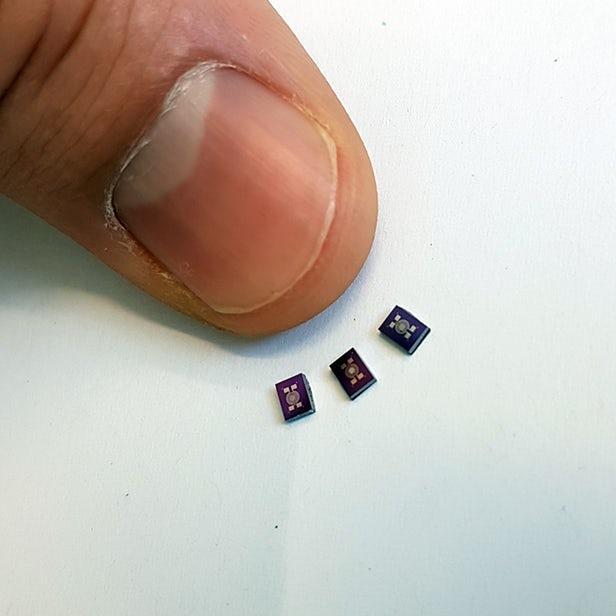 科学家开发搜救用低成本小型电子鼻传感器