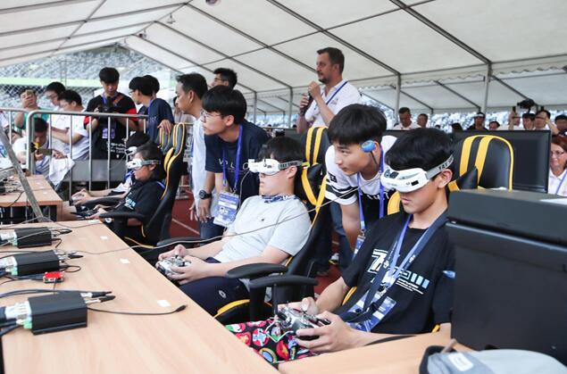 2018国际航联世界无人机锦标赛测试赛在深圳大运中心落幕