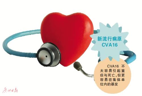 手足口病6月将达流行高峰 仍推荐接种EV71疫苗