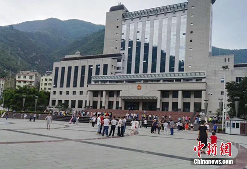 四川石棉县发生两次4.3级地震