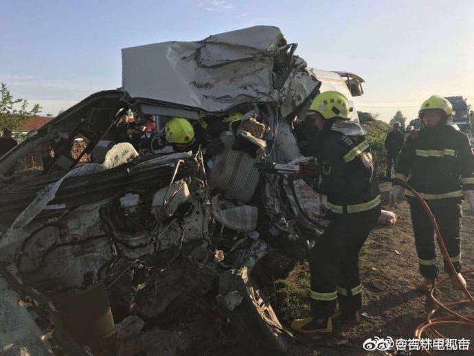 吉林发生两车相撞事故:已致7死6伤 伤者已送医