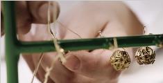 Dior迪奥 高定产品手工制作耳环