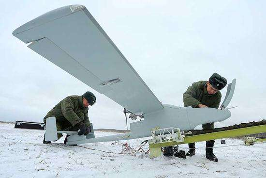 无人机作战力量引领俄军