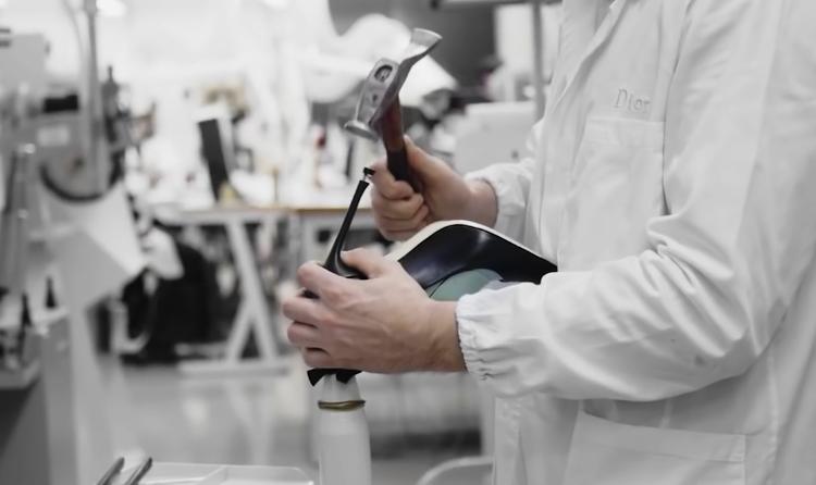 Dior迪奥高跟鞋制作过程