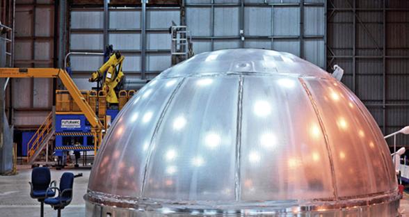 """""""猎户座""""升空 揭秘NASA测试最强大火箭幕后场景"""