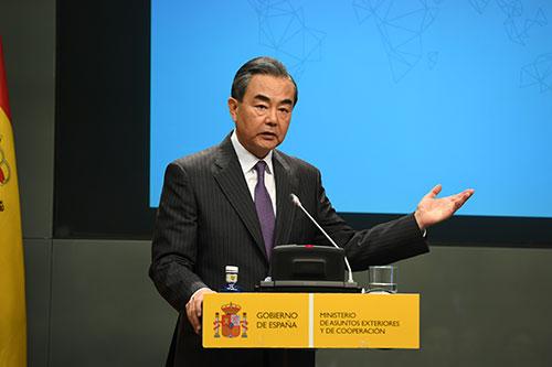 王毅谈巴以局势:和平需要全力争取,生命值得切实珍惜