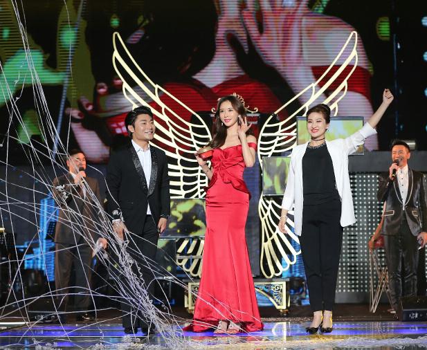 林志玲再次触电魔术 周乐天赵育莹同一首歌舞台让她过瘾