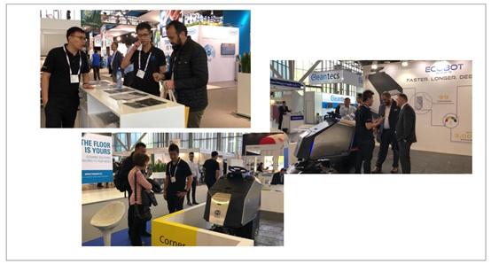 再扩海外市场版图,高仙清洁机器人首秀ISSA荷兰清洁展