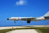轰6K首次起降南海岛礁