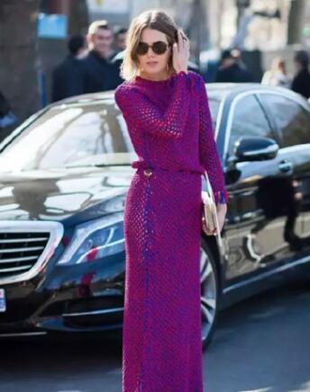 2018流行紫色?紫色穿搭技巧让你时尚又不失优雅