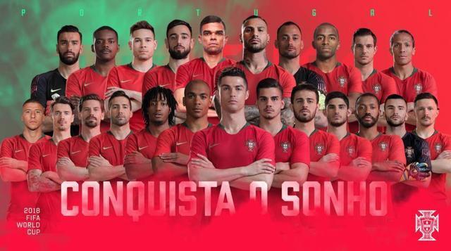 葡萄牙世界杯23人名单:C罗领衔 纳尼戈麦斯落选
