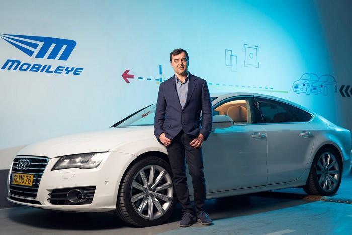 英特尔汽车业务赢得800万辆自动驾驶汽车合同