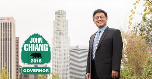 美媒:加州州长竞选 华裔候选人江俊辉获妇女组织支持
