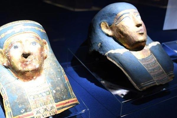古埃及木乃伊特展亮相安徽省博物馆