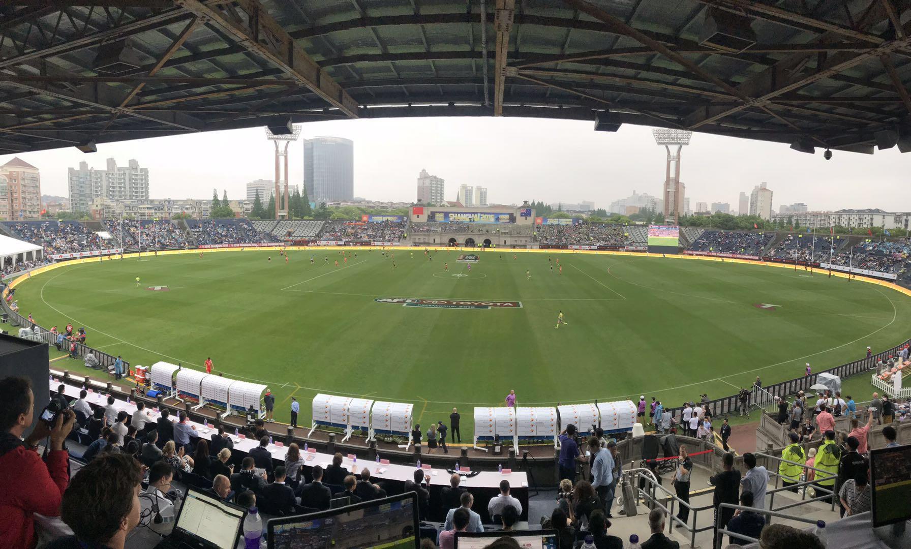 澳式足球积分赛上海站落幕 阿德莱德港队蝉联冠军