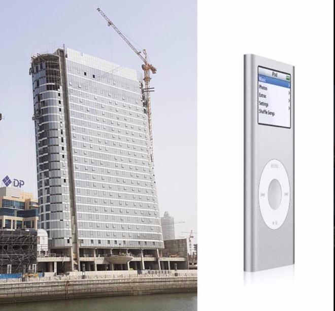 迪拜高科技公寓建筑从苹果iPod和iPad中汲取灵感