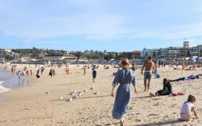 孙俪晒全家悉尼旅游照,估计那个摄影师就是邓超