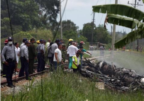 古巴坠机事件超百人遇难 3名幸存者伤情严重