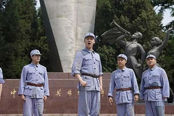 新编现代戏《狼牙山五壮士》首现北京玉渊潭公园
