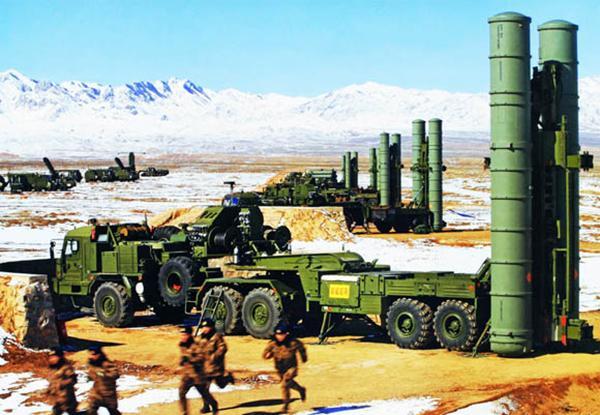 首套S400防空系统抵华 东亚防空进入400公里级时代