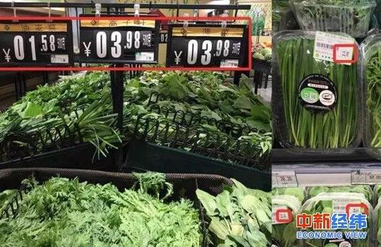 有机蔬菜被曝掺假 食品安全问题你能容忍几分?