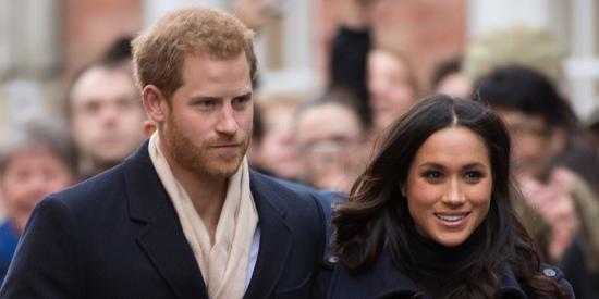 英国哈里王子与未婚妻美国女演员梅根
