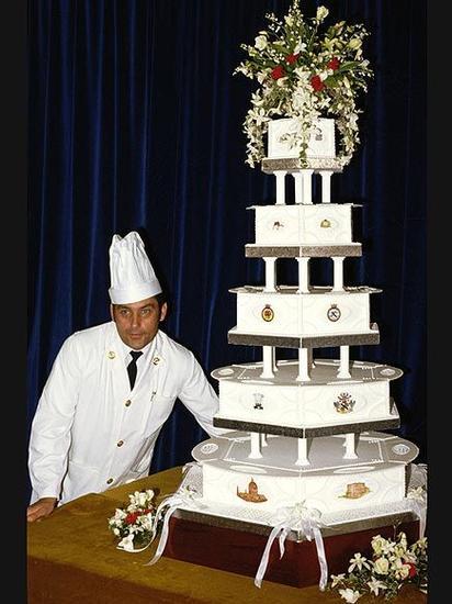 查尔斯王子和戴安娜婚礼蛋糕