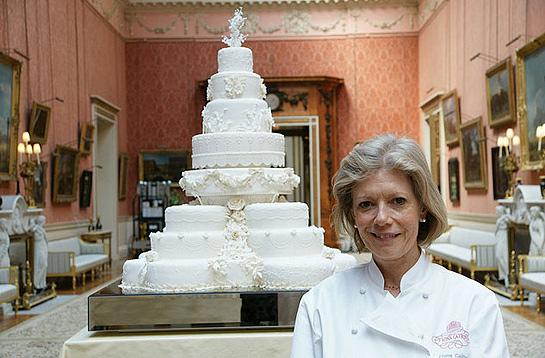 威廉王子和凯特米德尔顿婚礼蛋糕