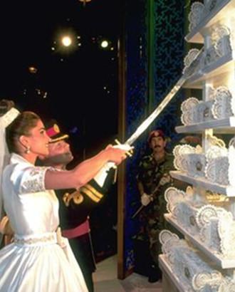 什么蛋糕撑得起皇室婚礼