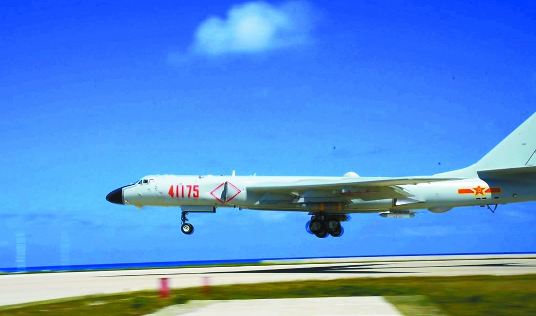 执飞部队大名鼎鼎 轰6K首降南海释放哪些信号?