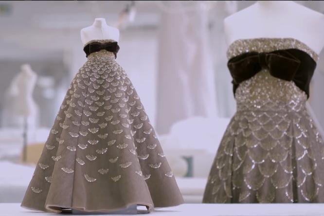 Dior迪奥礼服制作过程